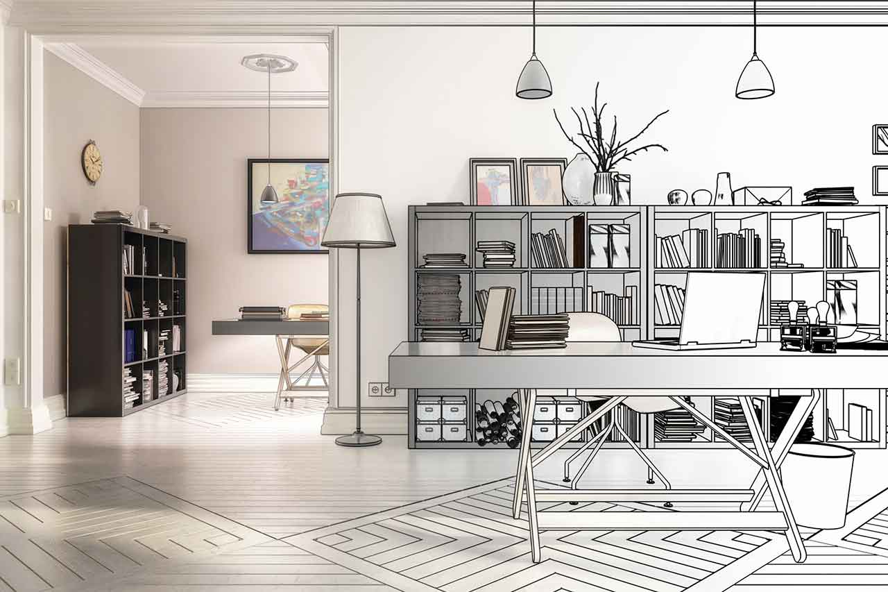 How to design your home office for comfort and productivity in 2021. - blog post image
