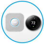Ooma + Nest: Safety, convenience and peace of mind for your family.