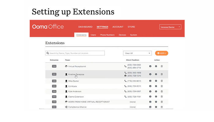 Play video: How to Set Up Extensions with Ooma Office Manager
