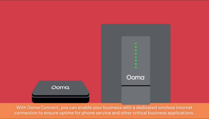Play video: Ooma Connect Business Internet