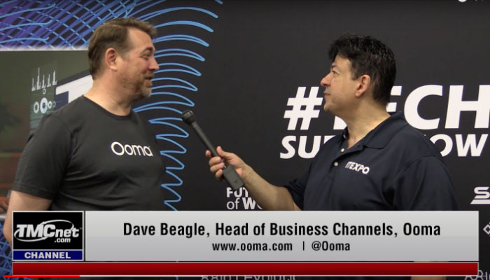 Play video: Ooma Interview at ITEXPO