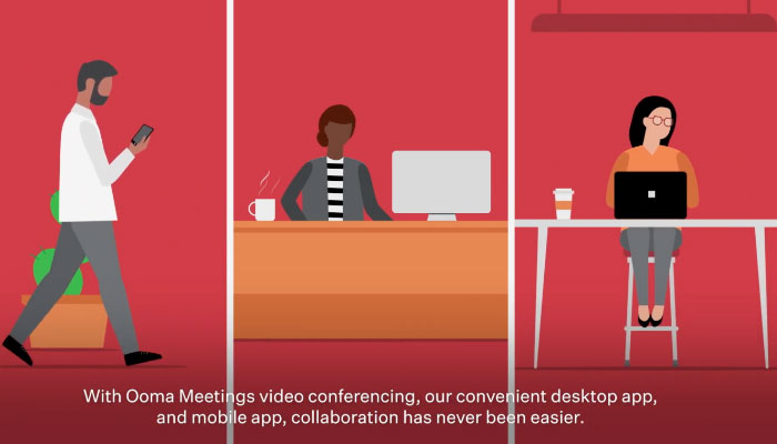 Play video: Ooma Meetings – Video Conferencing