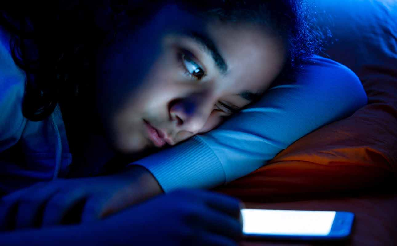 Struggling with a cell phone before bedtime? - blog post image