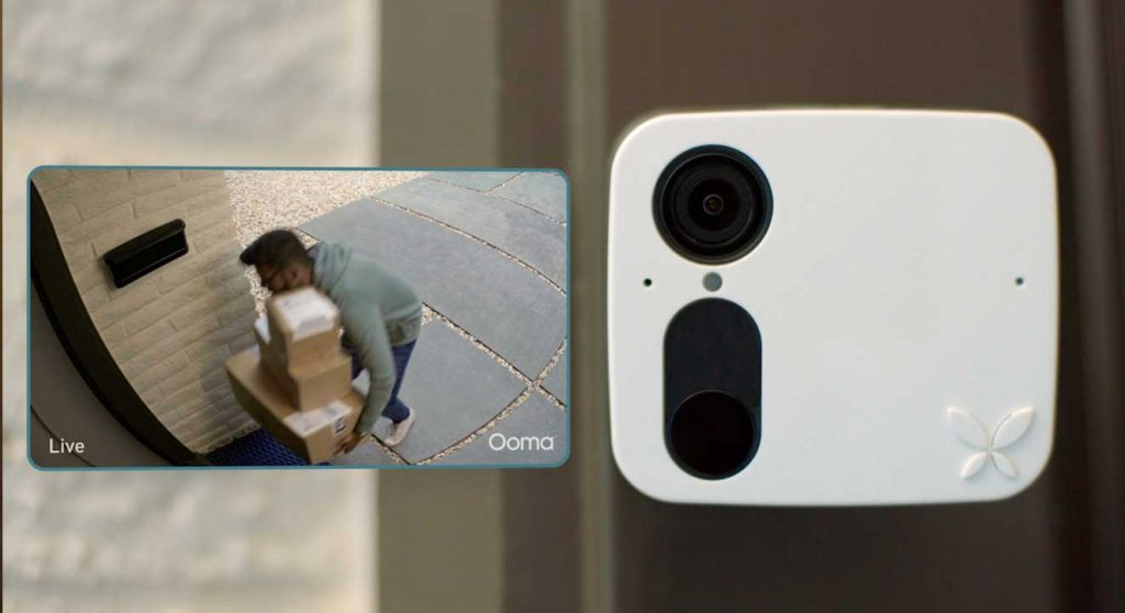 Ooma Smart Cam live feed